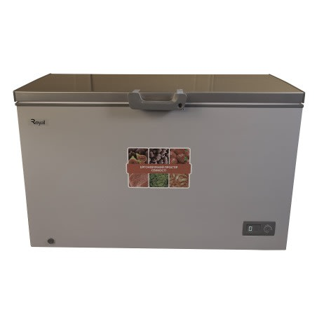 385 Litres Chest Freezer Rcf h385 Silver