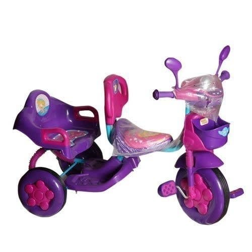 Children Double Seat Tricycle Purple | Konga Online Shopping