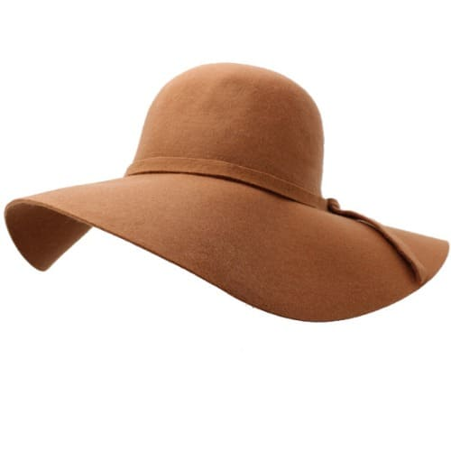 3cbecf8b3e5f3a Ladies Floppy Wide Brim Hat - Brown | Konga Online Shopping