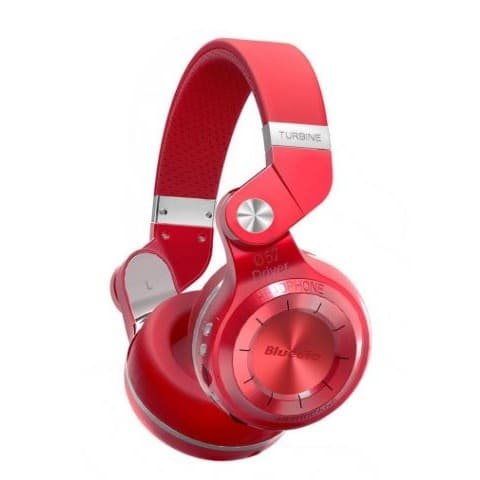 c544d7e9526 Bluedio T2+ Foldable Bluetooth Headphones - Red | Konga Online Shopping