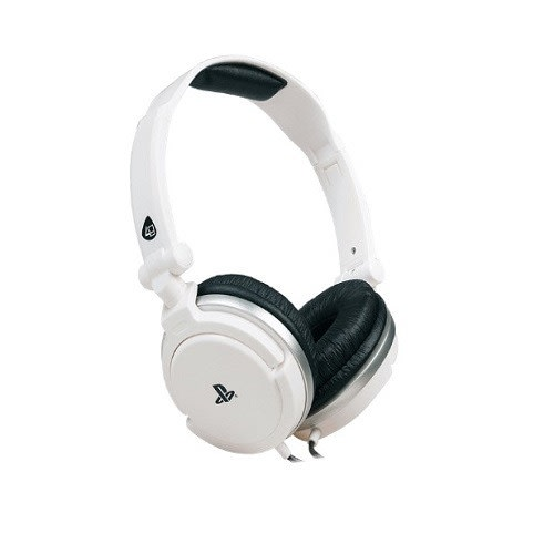 4gamers - 410 A4t Stereo Gaming Headset - White