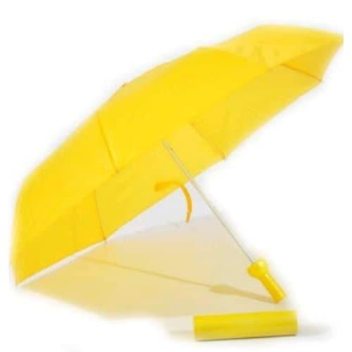 Wine Bottle Umbrella - Yellow