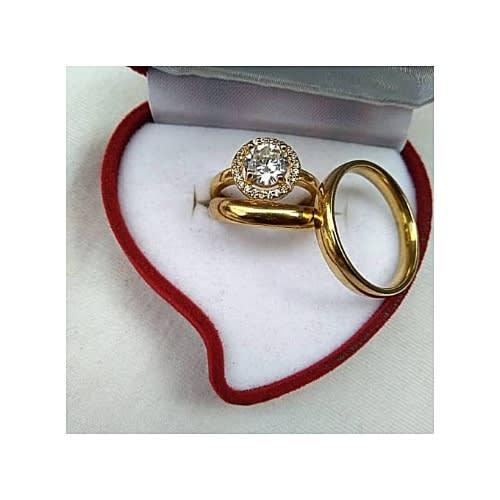 becb6c9c3cb2d Gg Rommanel Wedding Ring Set