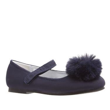 4db4da80b29a Girls Navy Pom-pom Shoes   Konga Online Shopping