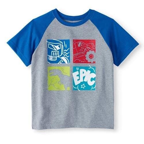 ab2370125 Garanimals 365 Kids Short Sleeve Raglan Boy T-shirt Top   Konga ...