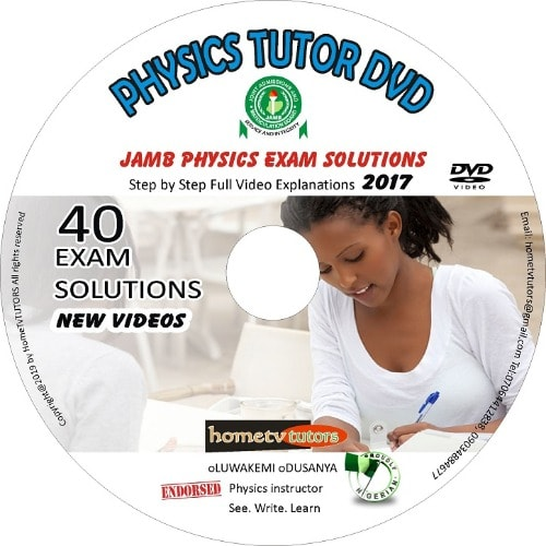 JAMB Physic Exam Solutions - Physics Tutor Dvd - 2 Dvds