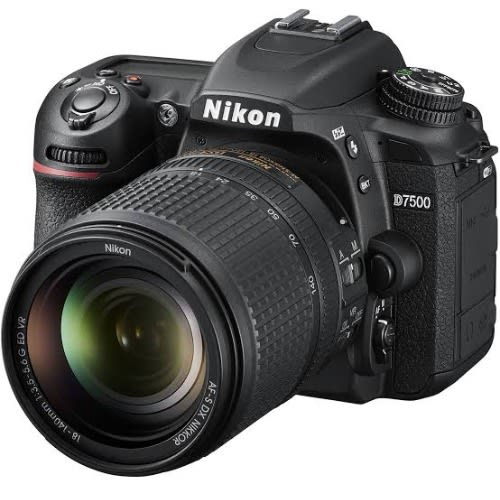 D7500 Profesional Camera 18-140mm Lens