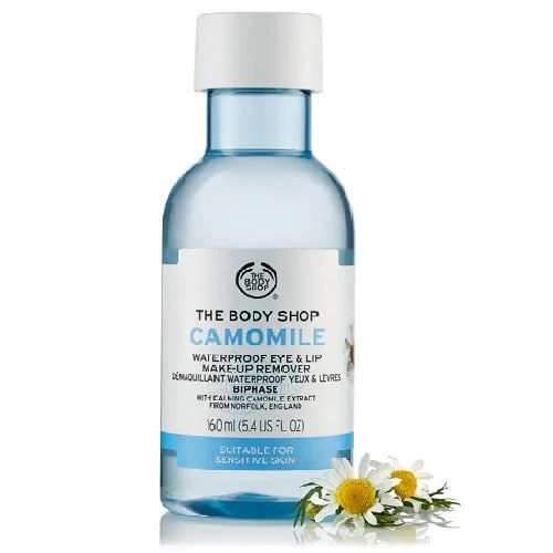 The Body Shop. Camomile Waterproof Eye & Lip Make-up Remover ...