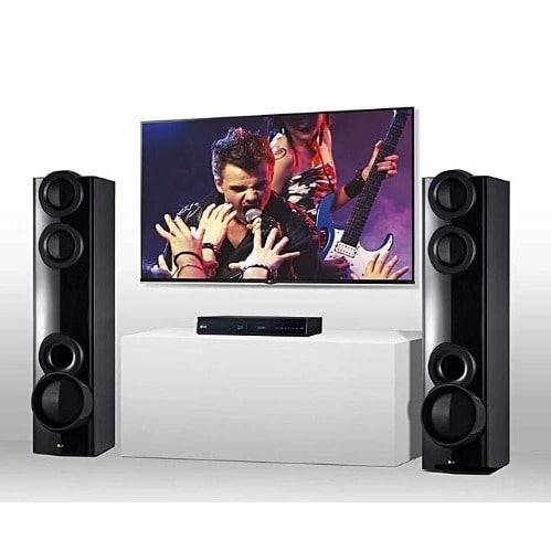 43'' Led Television & Home Theater System Combo