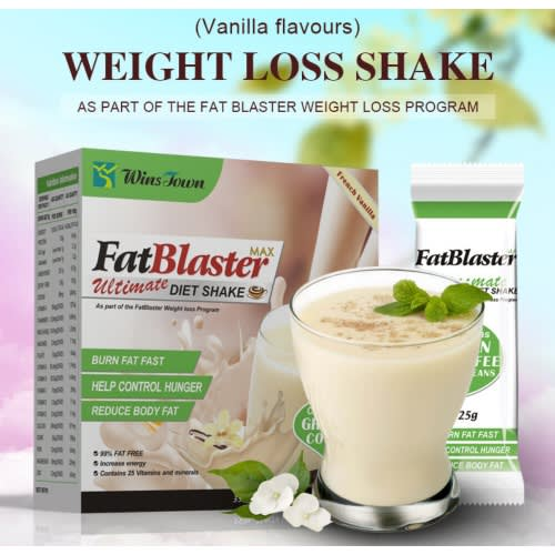 Fat Blaster Ultimate Weight Loss Diet Shake With Green Coffee Beans