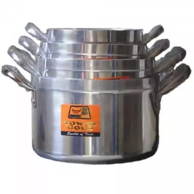 4 Set Cooking Pot - 18cm, 20cm , 22cm,24cm With Lids