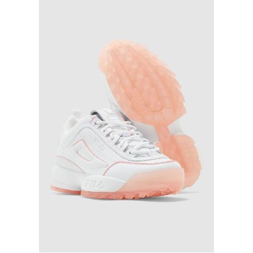 Fila Disruptor II Sneakers - White With