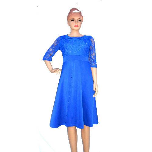 7e7784e7361 Ladies Flared Gown - Royal Blue | Konga Online Shopping