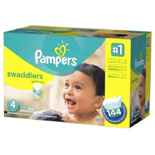 Swaddlers Diapers - Size 4 144