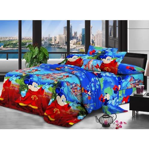 Cartoon Bed Sheet 2 Pillow Cases 4 X 6 Feet Konga Online Shopping