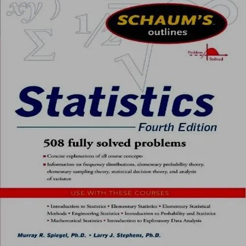 Schaum's Outline of Probability and Statistics - 4th Edition: 897
