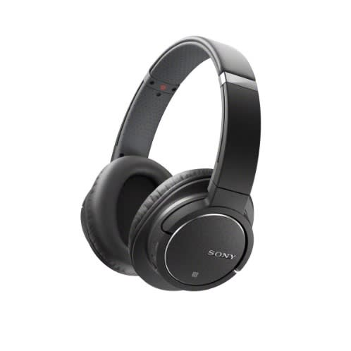 Mdrzx770bn Bluetooth And Noise Canceling Headset - Black