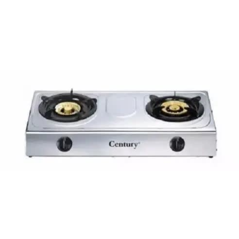 2 Burner Stainless Table Top Gas Cooker