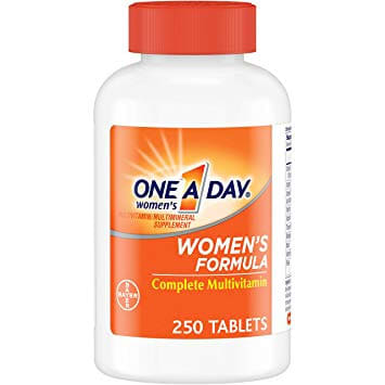 One A Day Women's Multivitamin, 250 Count.
