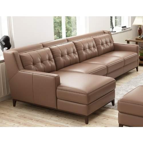 Leather L Shape Sofa Konga, L Shape Sofas Leather