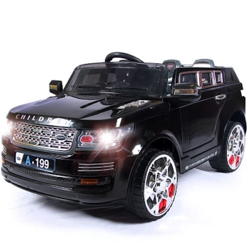 Range Rover Styled Ride On Toy Car Black Konga Online Shopping