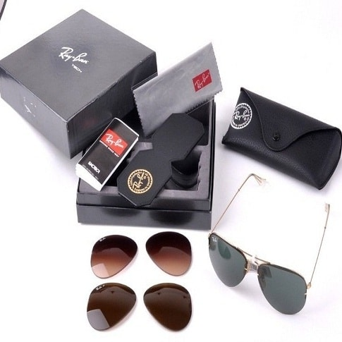 0896ed6aa7 ... new style ray ban 3in1 flip out aviator sunglasses eed0a 030db