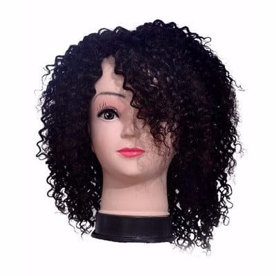 Real Hair Baby Curls Human Hair Wig