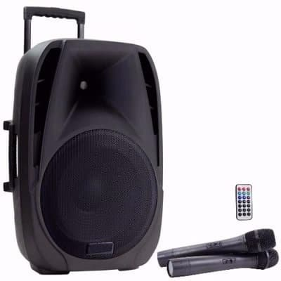 Rechargeable Bluetooth Pa 12 Quot Speaker System With Wireless