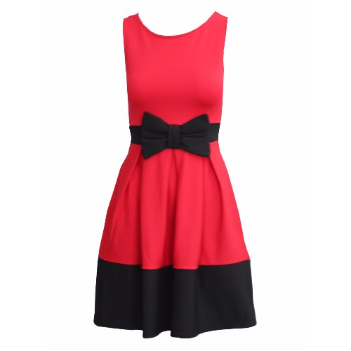 /R/e/Red-and-Black-Skater-Dress-with-Bow-Detail-7497973_4.jpg