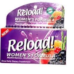 Reload Women's Formula Dietary Supplement - 90 Tablets.