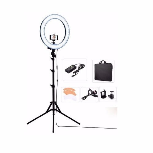 Ring Light 18 Inches Camera Holder And Phone Hanger With Stand