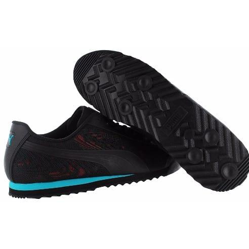 Conception innovante b3830 3c026 Roma Graphic Men's Canvas Sneakers - Black