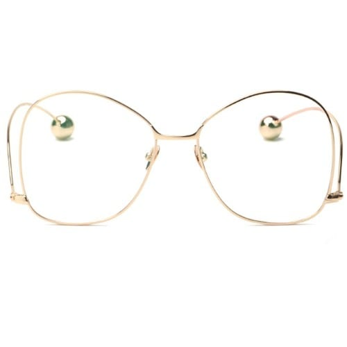 3ba115301935f Round Metal Glasses - Clear   Konga Online Shopping