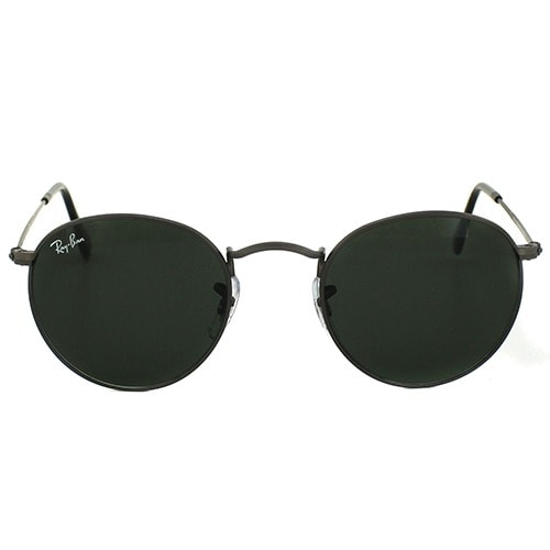 Round Metal Sunglasses Rb3447 Black