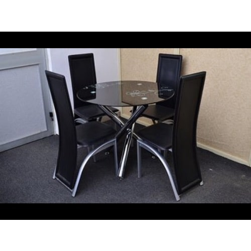 Round Table Dinning Set With Four Chairs Konga Online Shopping