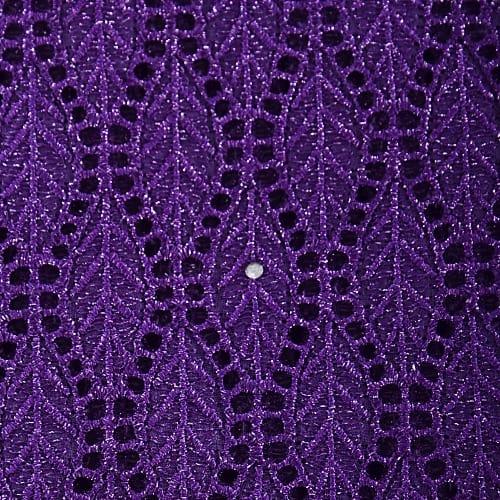 93aa35e8 Royal Purple Coloured Swiss Voile Lace | Konga Online Shopping