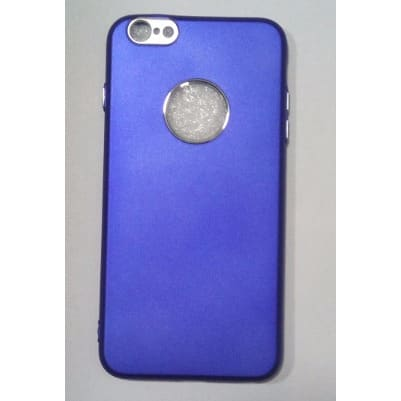 outlet store 92370 17e86 Rubber Back Cover for iphone 7 - Blue
