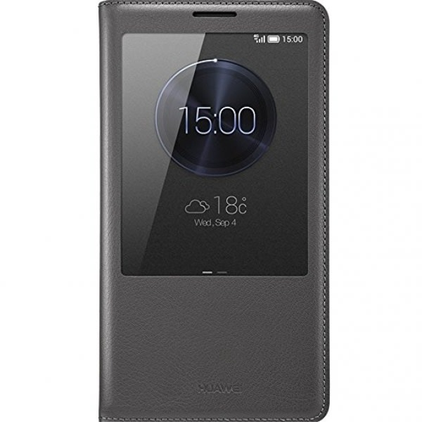 S- View Flip Case For Huawei Mate 9 - Black