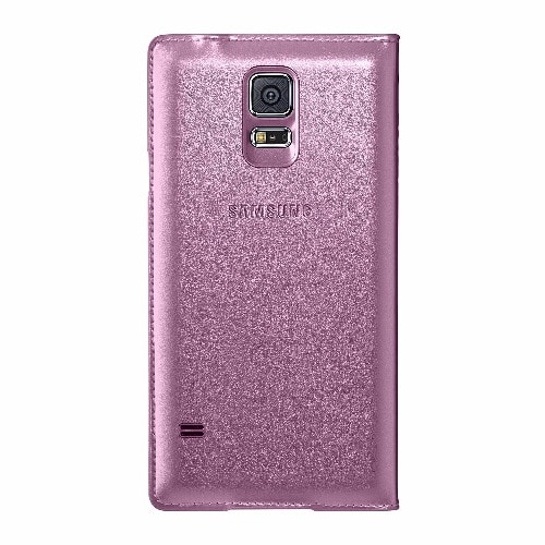 san francisco 79749 52465 S View Smart Flip Case for Samsung Galaxy S5 - Pink