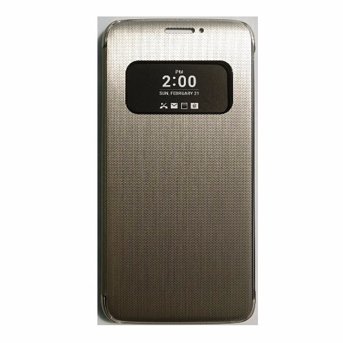 detailed look 4d2a1 b01cd S View Window Smart Flip Case for LG G5 - Gold