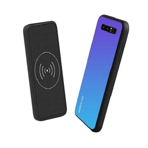 hot sale online 1576e 1e5db Note 9 Battery Charger Wireless Charger Power Bank Case For Samsung Galaxy  Note 9