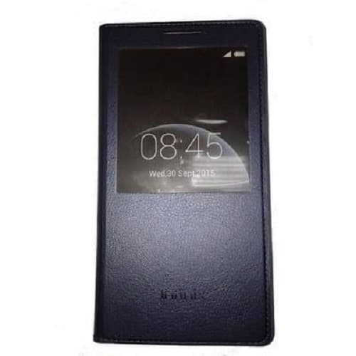 Tecno L8 Flip Case - Black