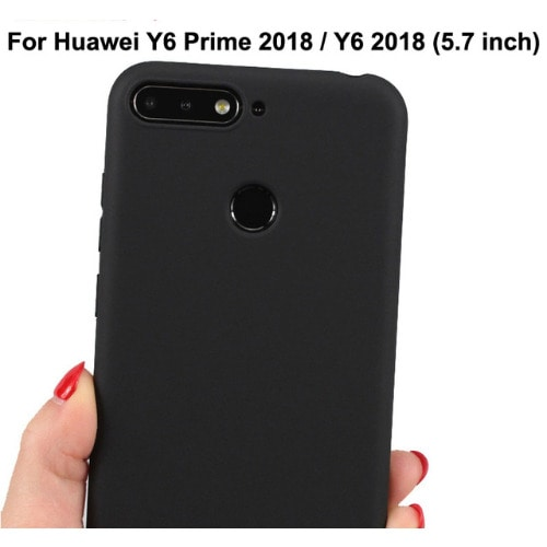 Silicone Case For Huawei Y6 Prime 2018
