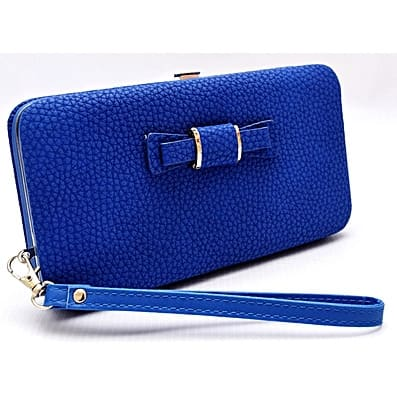 Female Wallet - Blue