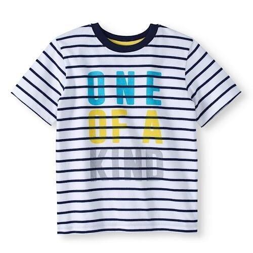 5b8fb94df Garanimals 365 Kids Boys Short Sleeve Graphic Tee- Striped | Konga ...