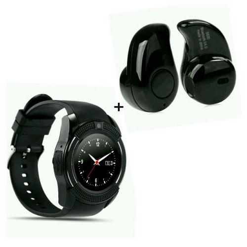 SGT V8 Smart GSM Watch + Free Headset