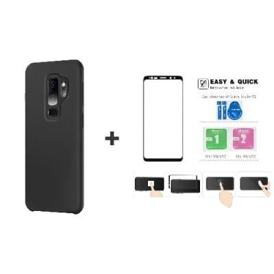 d97e1e6682e1 Silicone Back Case For Galaxy S9 Plus + 3d Screen Protector | Konga ...