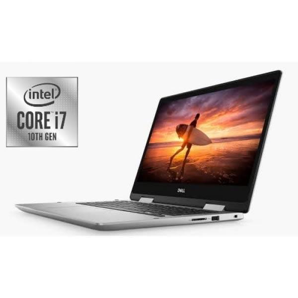 Inspiron 14 - 5491 X360 10th Gen - Intel Core I7 - 512GB SSD - 16GB RAM - Touch,Backlit - Win 10.
