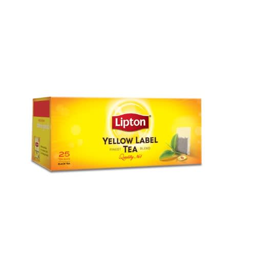 Yellow Label Tea.