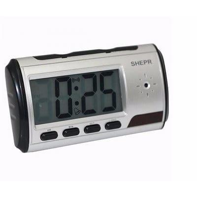 a6f28a839d3 SLV Digital Spy Camera Table Clock - Silver
